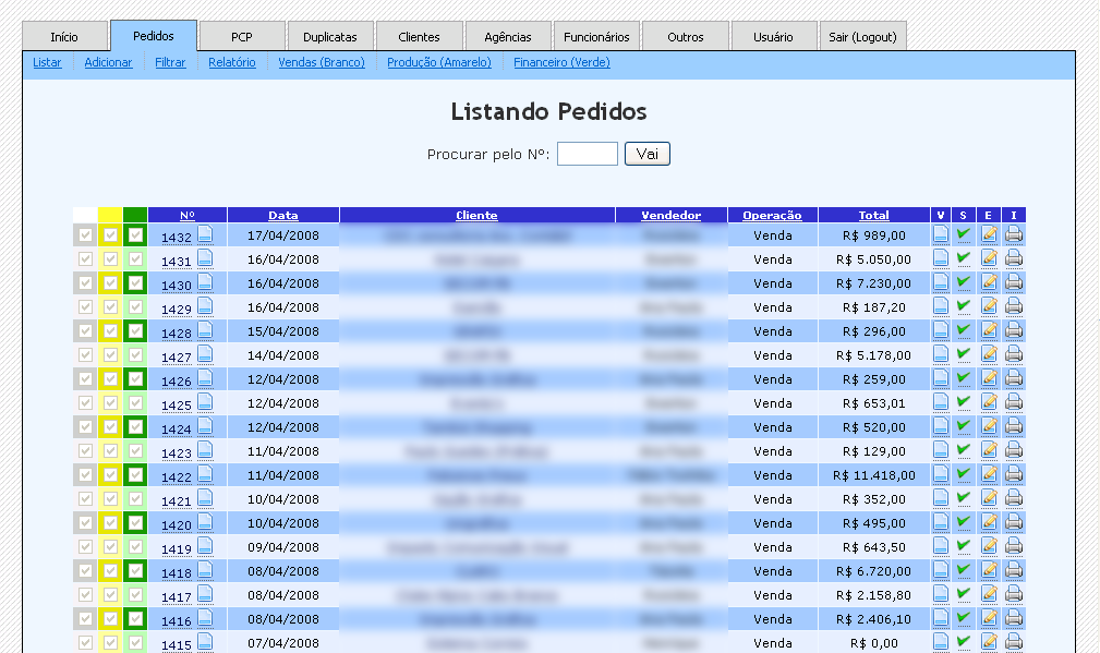 Portfolio - A simple ERP system   Fernando Brito